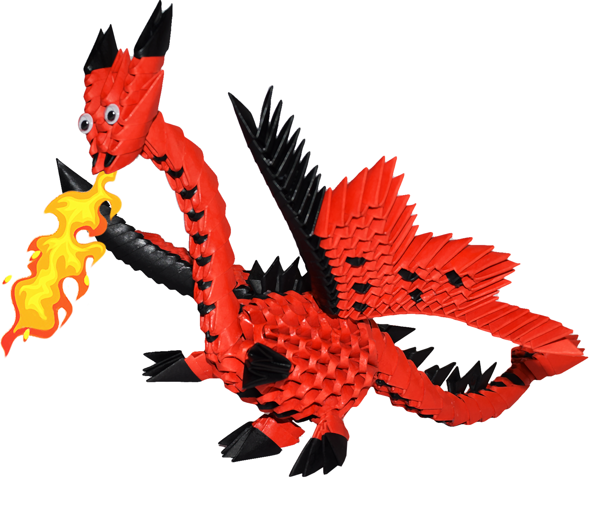 kit drago kit drago  u2013 ying 3d origami