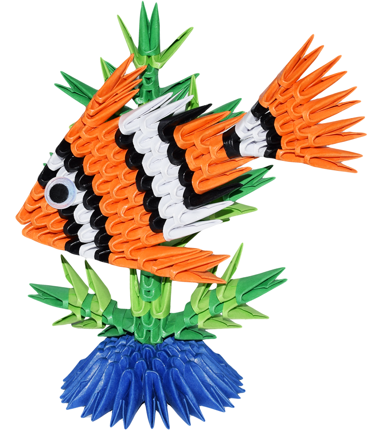Kit Pesce Tropicale Kit Tropical Fish Ying 3d Origami