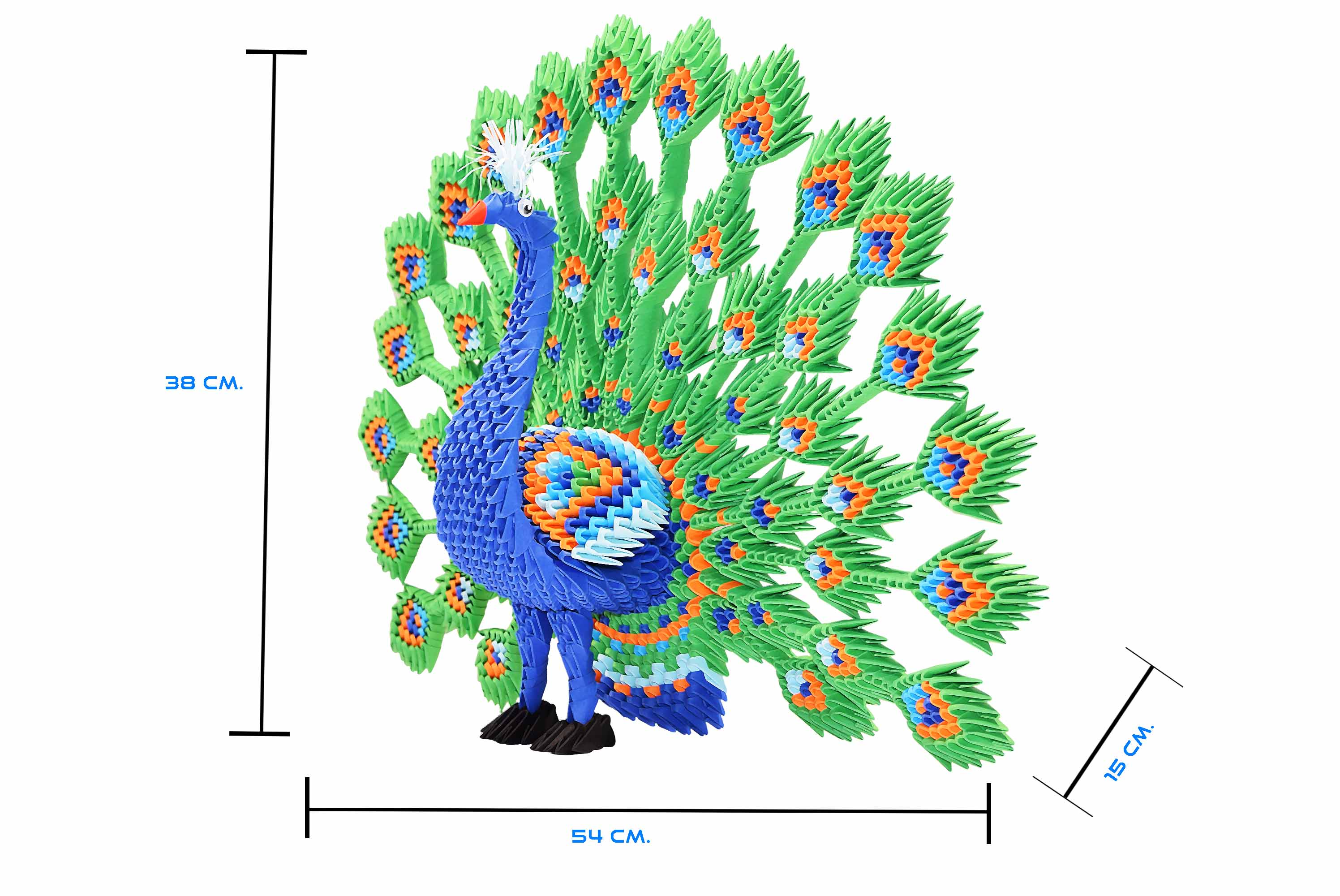 3d Origami Peacock Instructions - photo#34