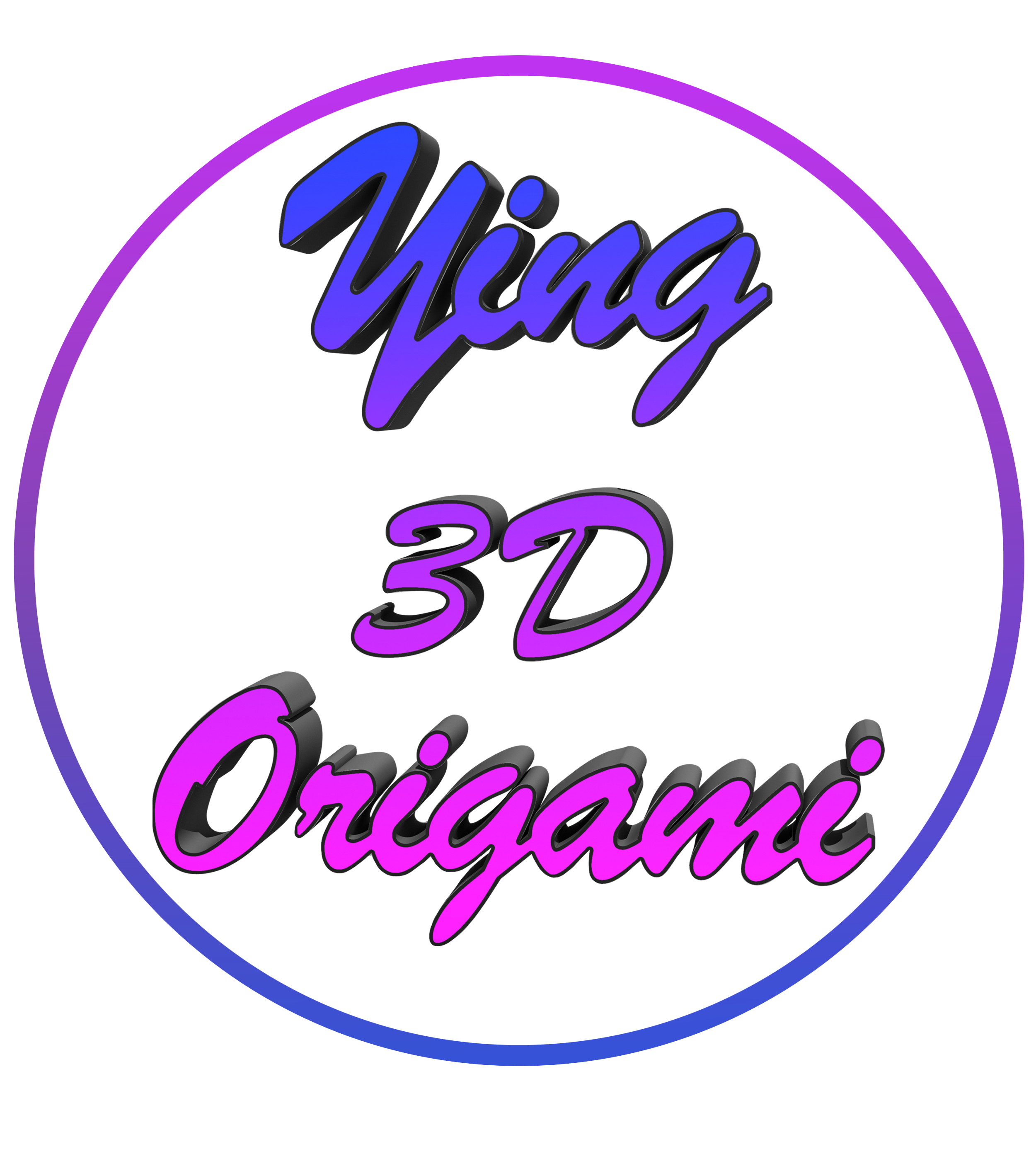 LOGO YING 3D ORIGAMI comp